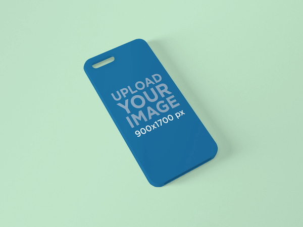 Phone Case Free Mockup Garment Only
