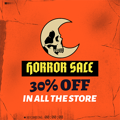 Halloween Themed Instagram Post Template For An In Store Sale 2968d
