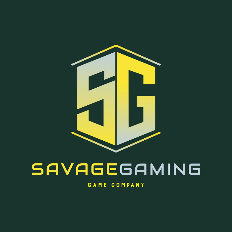 Logo Template For A Game Company With A Bold Monogram