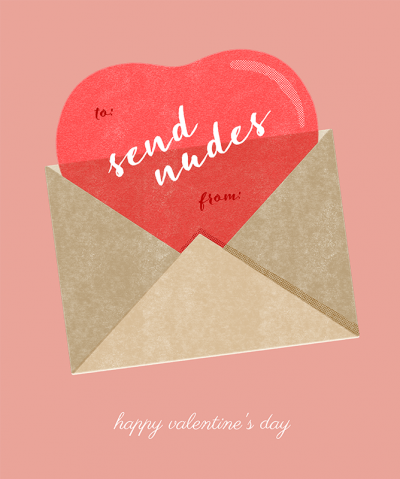 Valentines Day T Shirt Design Creator With Card Motif
